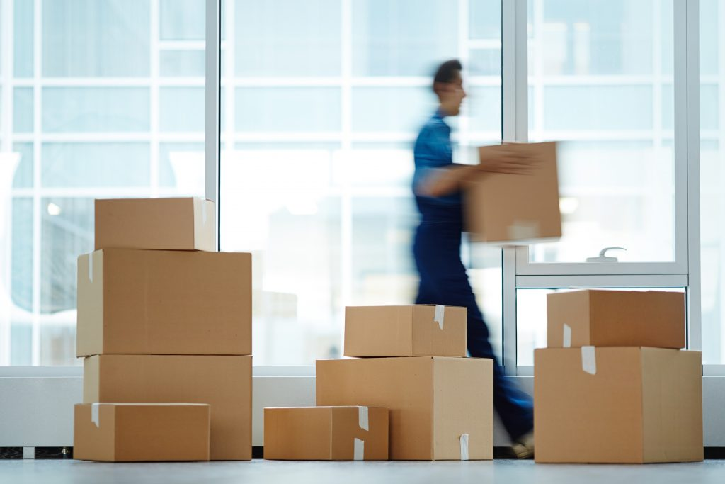 Business removals Leicester